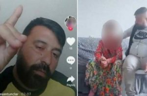 15 yaşındaki çocuğunu istismara maruz bıraktığı görüntülere sosyal medyada tepki