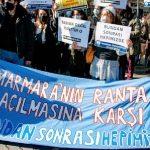 Marmara Üniversitesi'nde rant protestosu