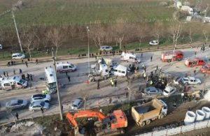 Bursa'da kaza: Can kaybı var