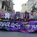 8 Mart Feminist Gece Yürüyüşü için kadınlar toplandı