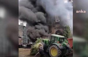Çiftçiler hükûmeti protesto etti