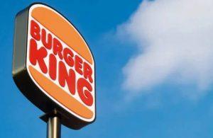 Burger King özür diledi