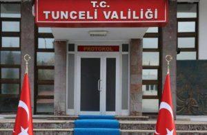 Tunceli'de eylemler yasaklandı