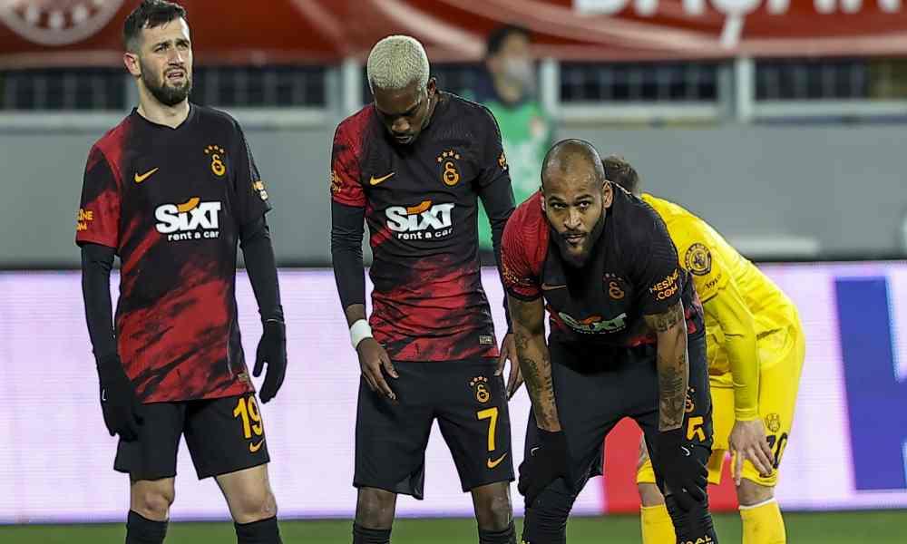 Galatasaray'ın serisi bozuldu: Albayrak, Terim ve Turan'dan sert açıklamalar
