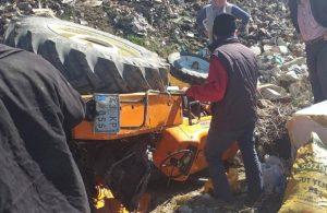 Mersin'de devrilen traktörün altında kalan çiftçi hayatını kaybetti