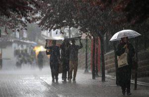 Meteorolojiden 'sağanak yağış' uyarısı!