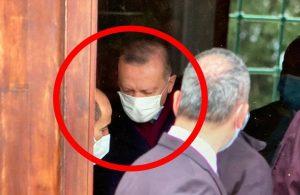 Erdoğan ve Bulu namaz çıkışı görüştü