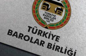 TBB: Türkiye'nin imzasını çekmesi hukuka aykırıdır