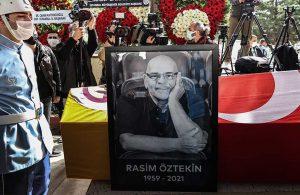Usta oyuncu Rasim Öztekin'e veda: Bak baba aynı sahnedeyiz
