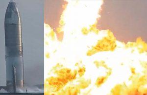 SpaceX'in uzay aracı inişten sonra patladı