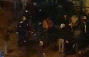 Genç kadınları taciz eden iki erkek çevredekiler tarafından darp edildi