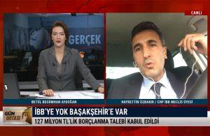 Özbakır: 75 kare araziyi bize vermeyen Başakşehir Belediyesi TÜRGEV'e 750 dönüm arazi verdi