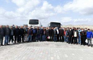 Tarsus Belediyesi çalışanları Kapadokya'da