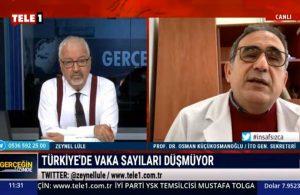 Prof. Dr. Küçükosmanoğlu: Kırmızının kriteri değişti