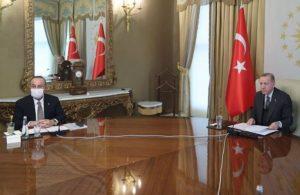 AKP'li Cumhurbaşkanı Erdoğan, AB yetkilileriyle görüştü