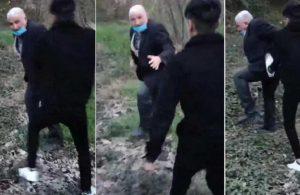 Köpeğe tecavüz eden adam darp edildi