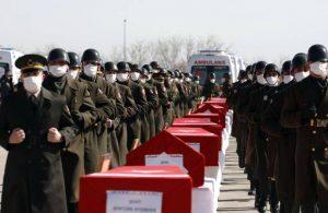 Helikopter kazasında şehit olan askerler son yolculuğuna uğurlandı