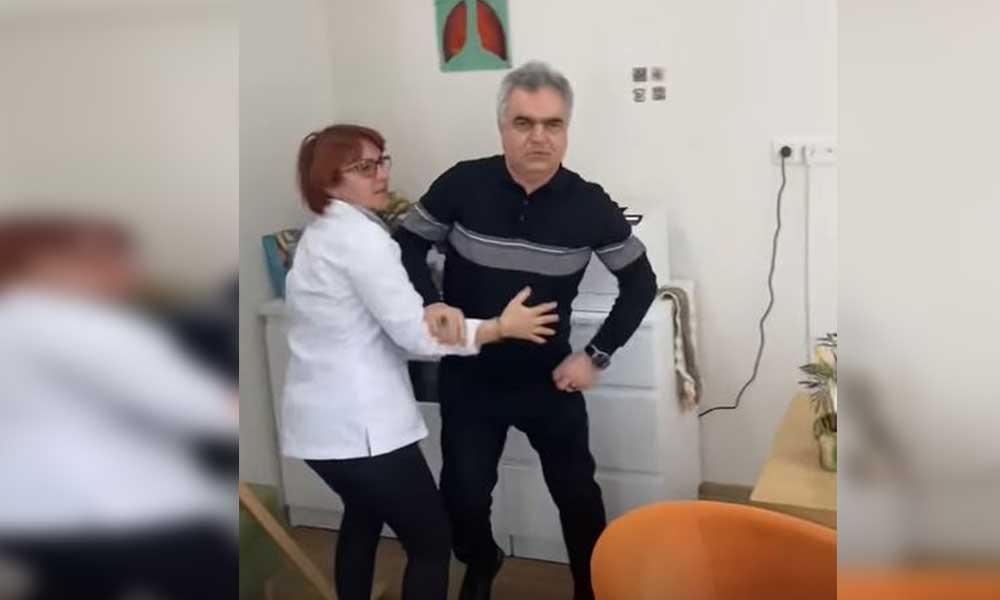 Hastanede arbede! Profesör hasta yakınına neden saldırdı?