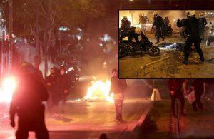 Atina'da tansiyon yükseldi… Öğrenciler sokakta