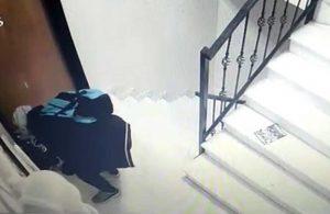 29 çift marka ayakkabı çalan hırsız böyle görüntülendi