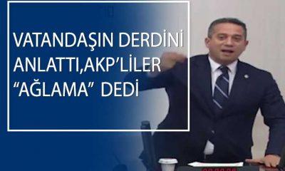CHP'li Başarır'dan AKP sıralarına: Sokağa çıkarken yüzünün kızarması lazım