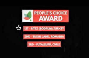 Green Destinations Halk Oylaması'nda birincilik ödülü Bitez'in oldu