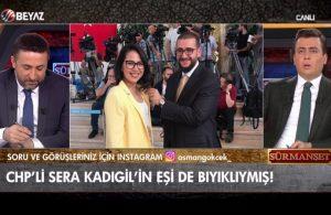 Beyaz TV'den gazetecilik örneği: Sera Kadıgil'in eşi de bıyıklı