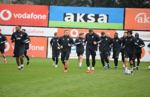 Beşiktaş'ta Fenerbahçe derbisi hazırlıkları devam ediyor