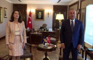 Mevlüt Çavuşoğlu, Ann Linde ile görüştü