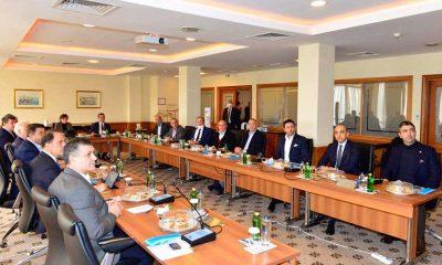 Başkan Gökhan Yüksel CHP'li Belediye Başkanları Toplantısı'na katıldı
