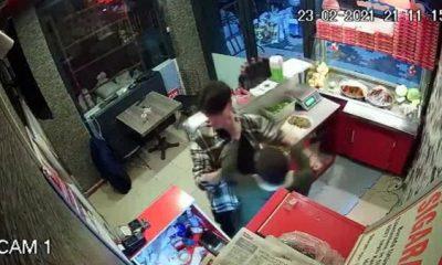 Çiğ köfteciye saldıran 2 kişi tutuklandı
