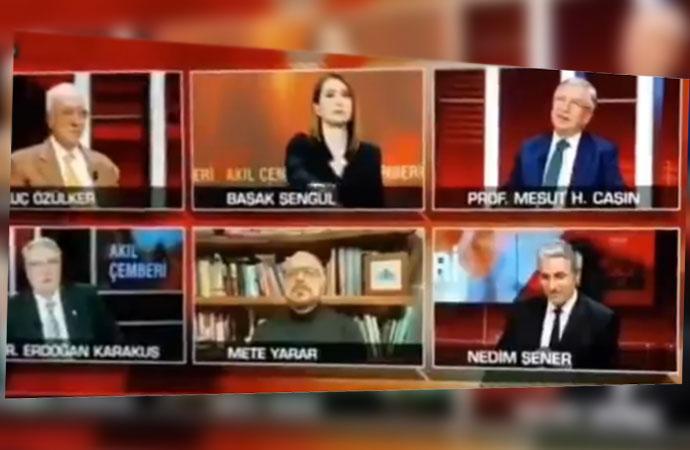 CNN Türk'te şoke eden küfür