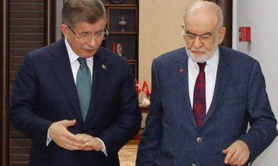 Davutoğlu'ndan Karamollaoğlu'na ziyaret: 'Fezlekelere karşı çıkarız'