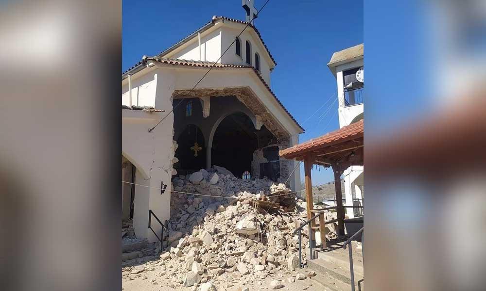 Yunanistan'da 6.2 büyüklüğünde deprem