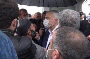 AKP'li vekil depremzedelere çıkıştı: Sorunlarınızı çözmeye gelmediler