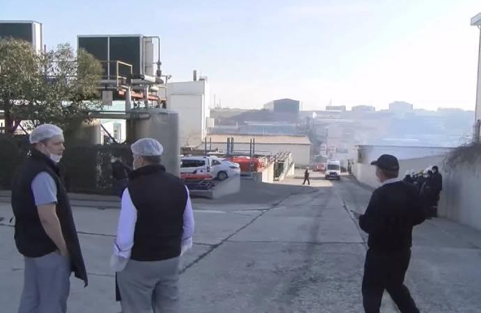 İstanbul Arnavutköy'de deri fabrikasında patlama