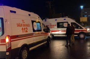 Kısıtlamayı ihlal eden alkolü kişi, ambulansın gidişini engellemek istedi