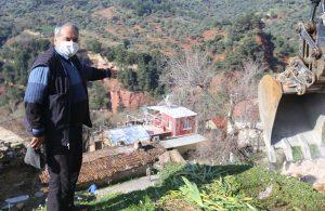 Efeler Belediyesi tehlikeyi ortadan kaldırdı