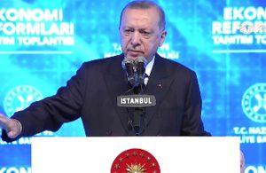 Erdoğan: Montrö'den çıkma çalışmamız yok
