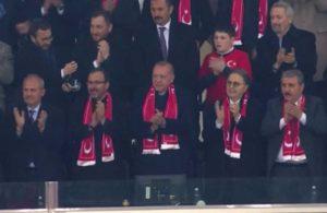 Erdoğan milli maça 12 bin kişiyle mi gidecek?