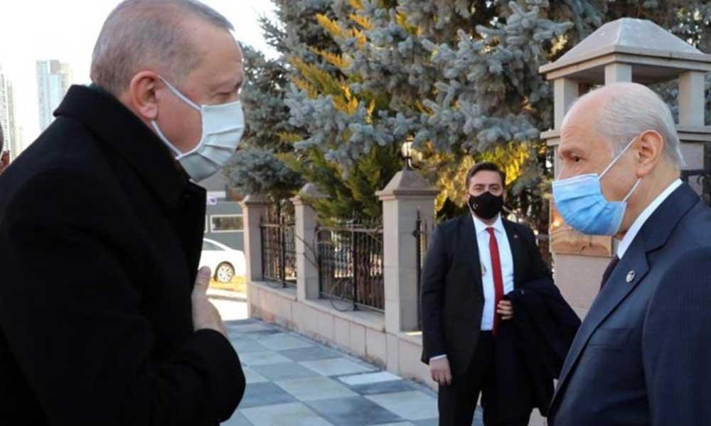 Erdoğan ve Bahçeli'nin sürpriz görüşmesinde neler konuşuldu?