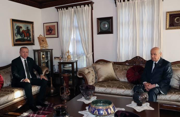 Erdoğan ile Bahçeli görüşmeleri sıklaştı