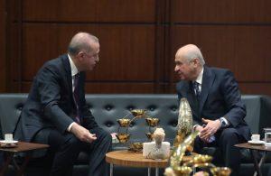 AKP'li Cumhurbaşkanı Erdoğan, Devlet Bahçeli ile görüştü