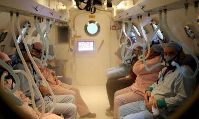 İyileşmeyen yara, zehirlenme, ani görme ve işitme kayıplarına, 'oksijen' tedavisi!