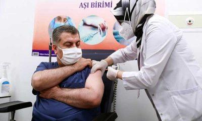 Fahrettin Koca'dan önemli aşı açıklaması!
