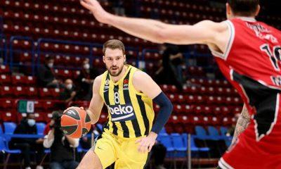 Fenerbahçe Olimpia Milano'yu sekiz sayı ile devirdi