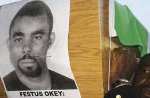 Festus Okey davası: Sanık polise 16 yıl 8 ay hapis cezası