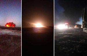 Suriye'nin kuzeyine balistik füze saldırısı: Ölü ve yaralılar var!