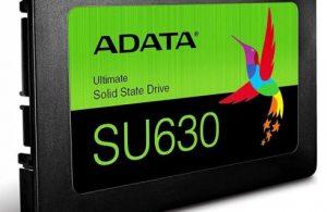 Adata SU630 : Yüksek depolama kapasitesi performansile birleşti