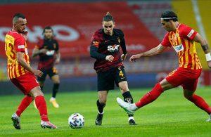Galatasaray Kayserispor'u farklı geçti